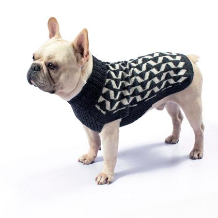 Alqo-Wasi-Geometric-Dog-Sweater-Grey-Lifestyle-Frenchie-2-450