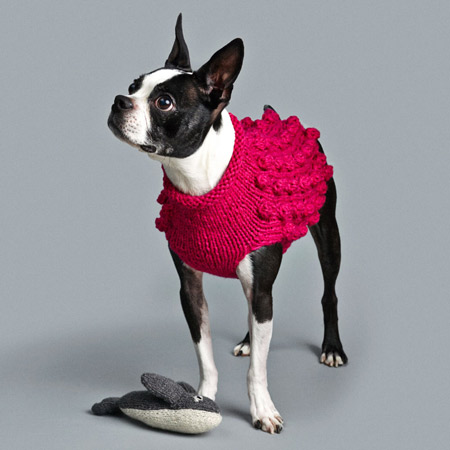 Ware-of-the-dog-bobble-knit-dog-sweater-pink-lifestyle-450