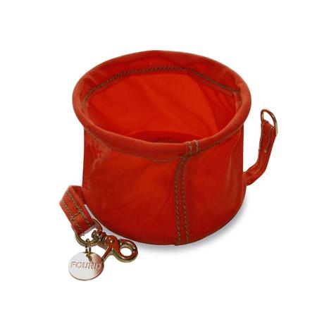 Found-My-Animal-Canvas-Water-Bowl-Orange-Open-450