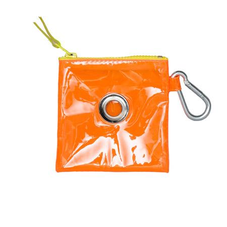 Ware-of-the-dog-Vinyl-Pouch-Orange-450